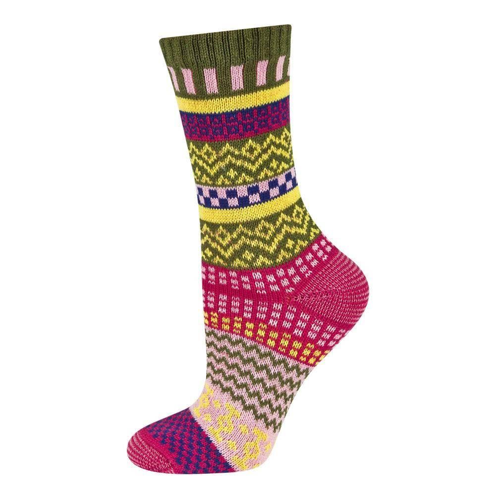 fb8ef87168 Skarpety damskie SOXO kolorowe we wzorki PREMIUM KOBIETY   Skarpety ...
